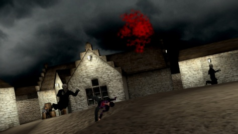 Vampire Hunter FPS - Screen