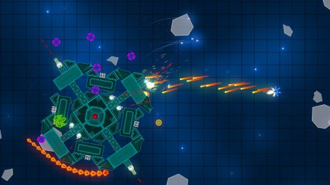 Grid Space Shooter - Screen