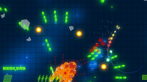 Grid Space Shooter - Screen2