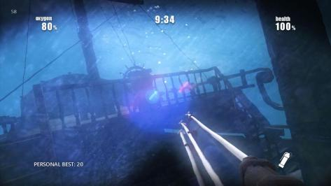 Shark Attack Deathmatch - Screen