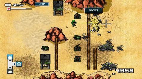 Planet Wars - Screen