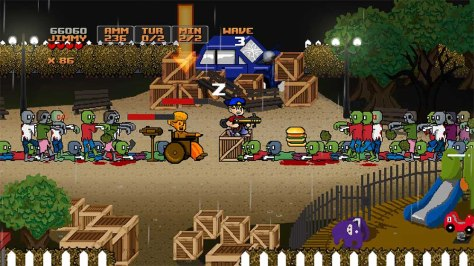 Jimmy Vs. Zombies - Screen