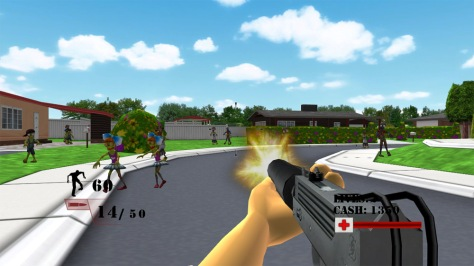 Zombie Defense Squad - Screen
