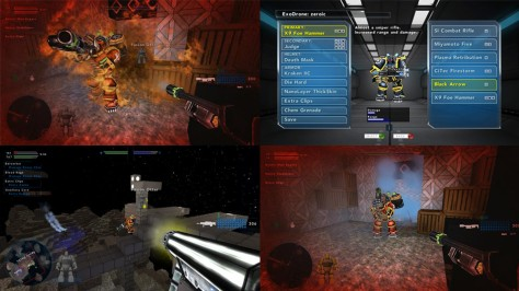 DownGate Deathmatch - Screen
