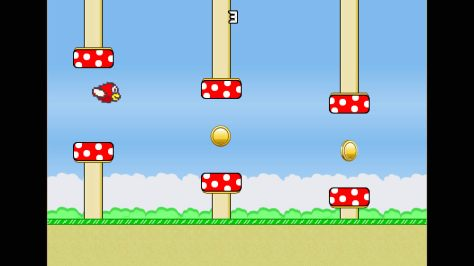Flappy Feathers - Screen