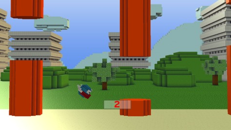 Flappy Wrecker - Screen