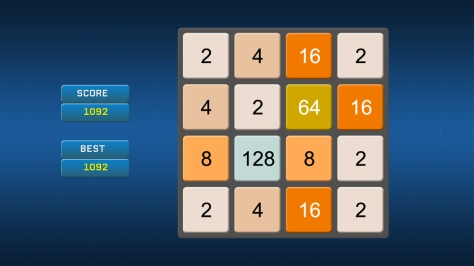 2048 - Xbox 360 Edition - Screen