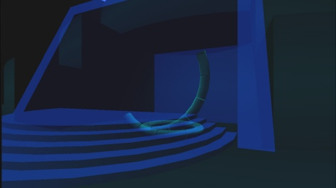 Mysterious Blue Valley - Screen