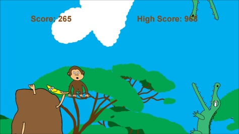 Flappy Monkey - Screen2
