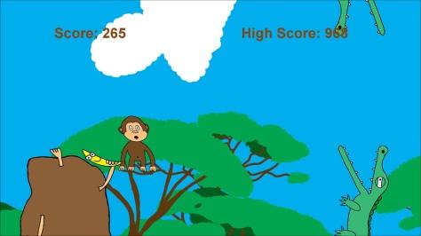 Flappy Monkey - Screen2