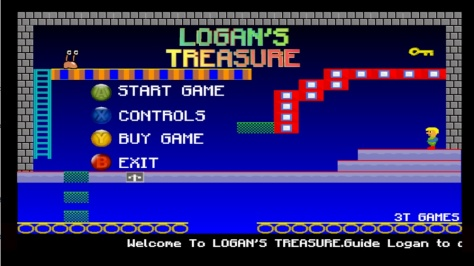 Logan's Treasure - Screen