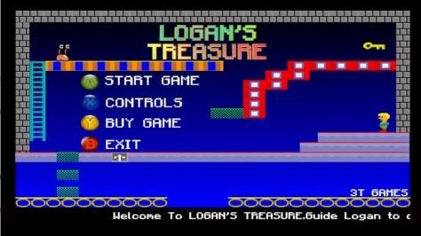Logan's Treasure - Screen