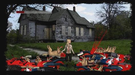 Massive Cleavage Vs. Zombies - Screen