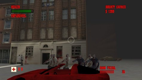 Zombie Hunter IV - Screen