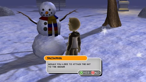 Ask My Avatar Winter - Screen