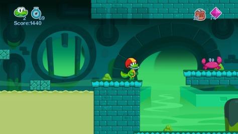 Croc's World 2 - Screen