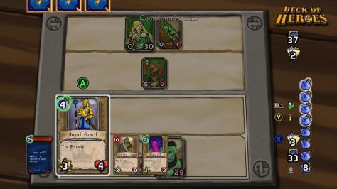 Deck of Heroes - Screen